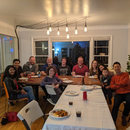 2019 holiday party/ Sagar's farewell party